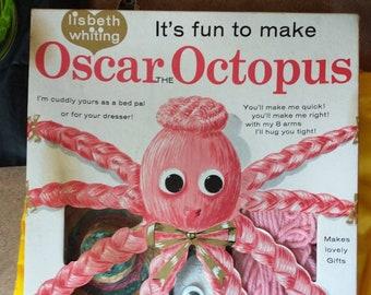 Lisbeth Whiting 1960s Oscar the Octopus Yarn Craft