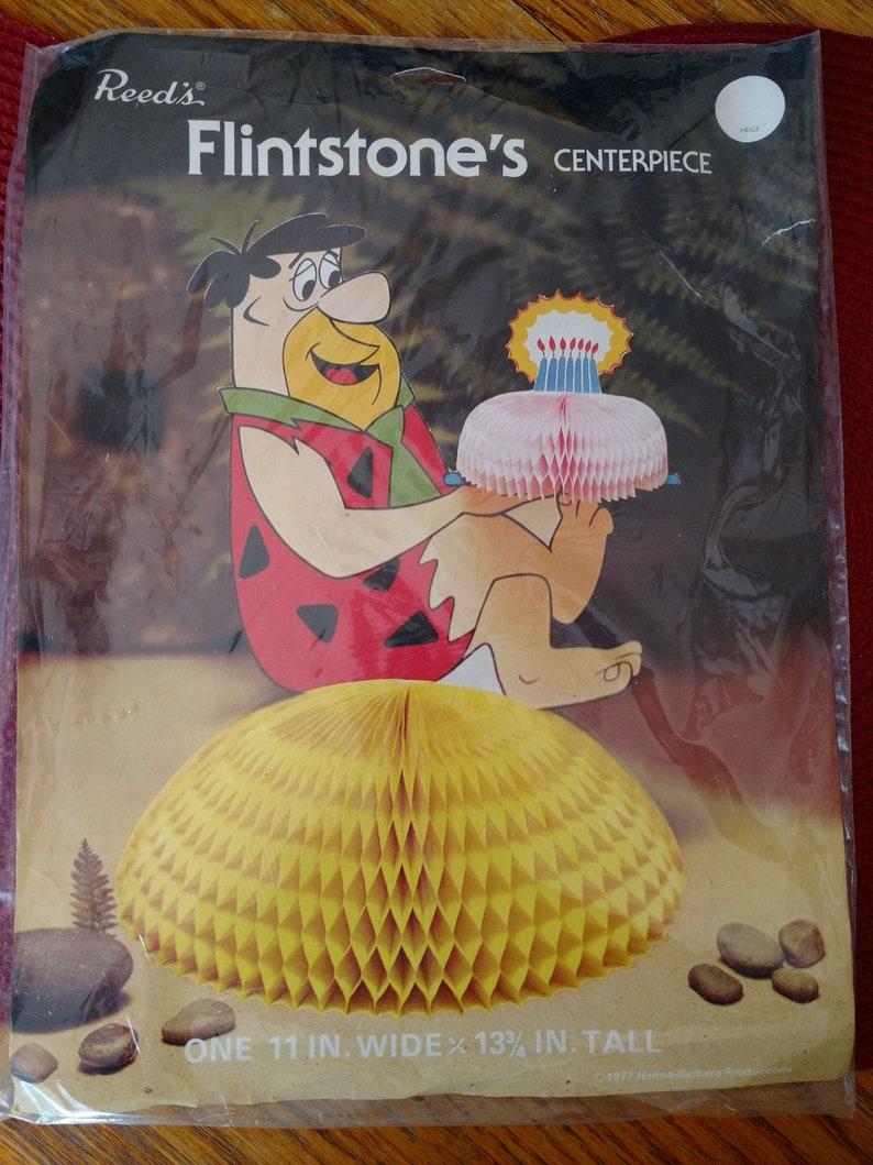 Hanna Barbera Reeds 1970s Fred Flintstone's Honeycomb image 0