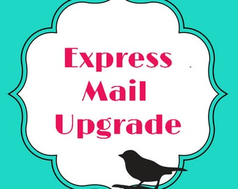 USPS Express Mail upgrade on your order : 2812