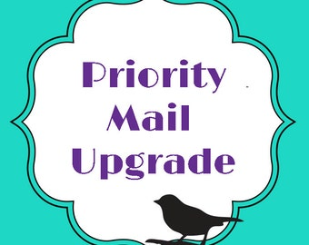 USPS Priority Mail upgrade on your order : 2811
