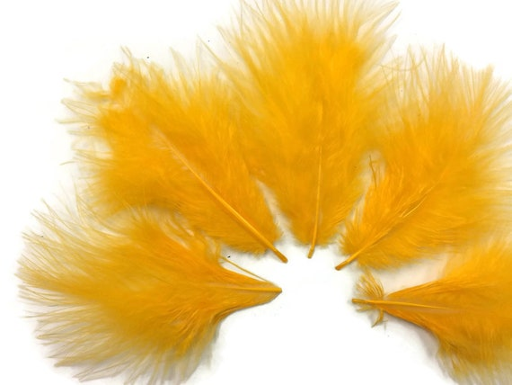 1 Pack Chartreuse Gren Turkey Marabou Short Down Fluff Loose Feathers 0.10 Oz.