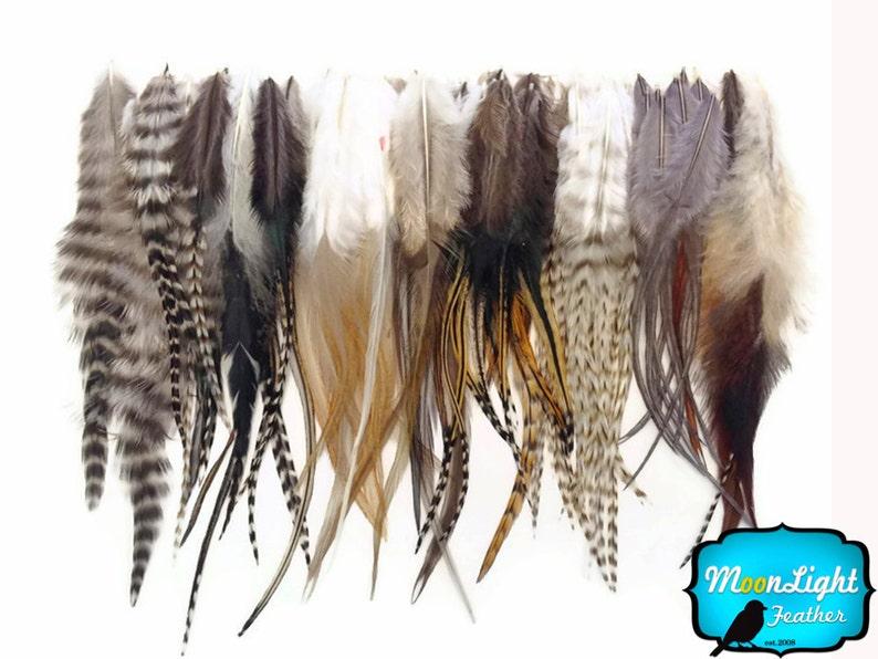 Wholesale Feathers 100 Pieces  Wholesale NATURAL TONE Short image 0