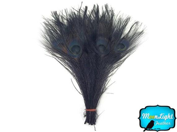100 piezas Gris Natural Chinchila coque plumas