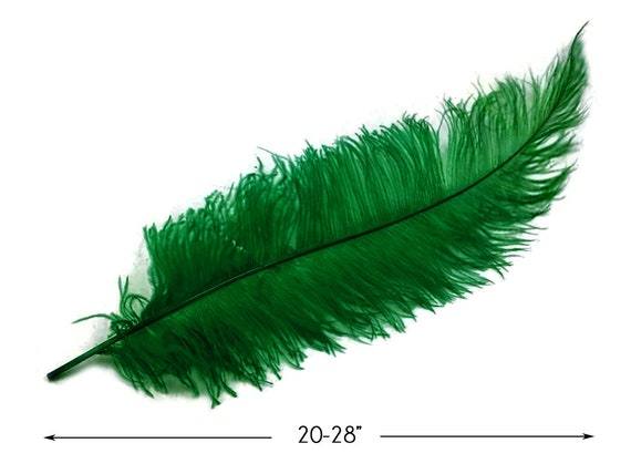 """Hot Pink Ostrich Spads Extra Long Feathers 20-28/"""" Centerpiece Party 10 pieces"""