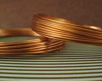 Multiple Use  Bare Round Wire 10 Ga Copper Wire 15 Ft Coil Half Hard