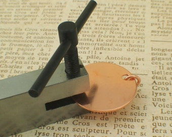 Best Economical Metal Hole Punch In Three Sizes - Free Sample Pack of Stamping Discs Included