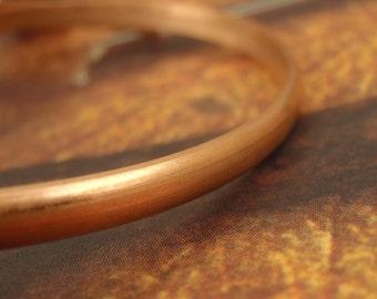 Half Round Dead Soft Copper Wire - 100% Guarantee YOU Pick Gauge 6, 8, 10, 12, 14, 16, 18, 20, 21, 22, 24