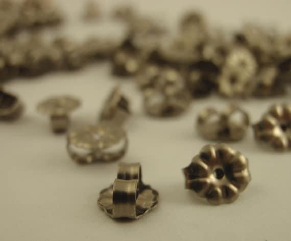 Titanium Ear nuts Medium Weight Earring Backs