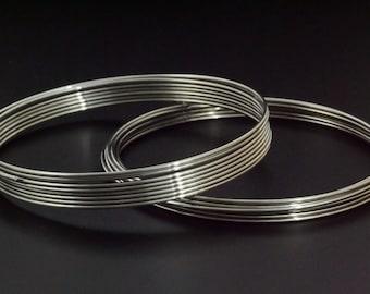 Best Bangle Memory Wire - Heavy Duty 19 gauge in Stainless Steel