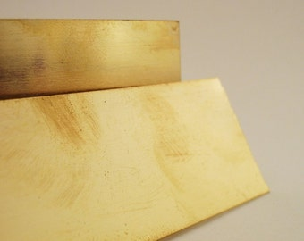 1 Square Inch of Brass Solder