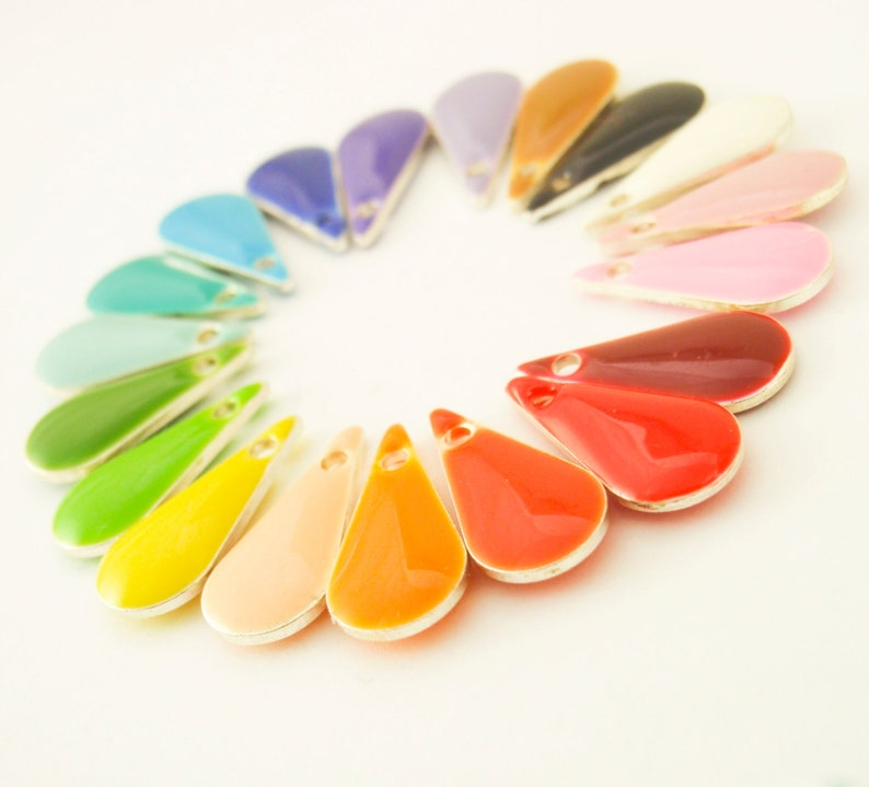 25-15mm x 7mm Colorful Tear Drops 100/% Guaranttee