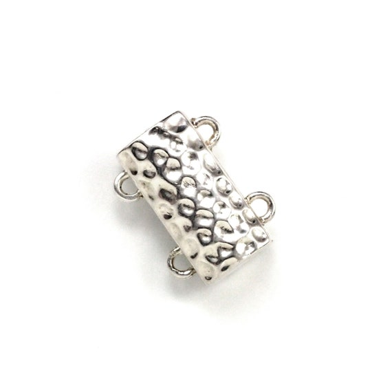 53 7*14mm silver Plated magnet 1 strands Jewelry Clasp