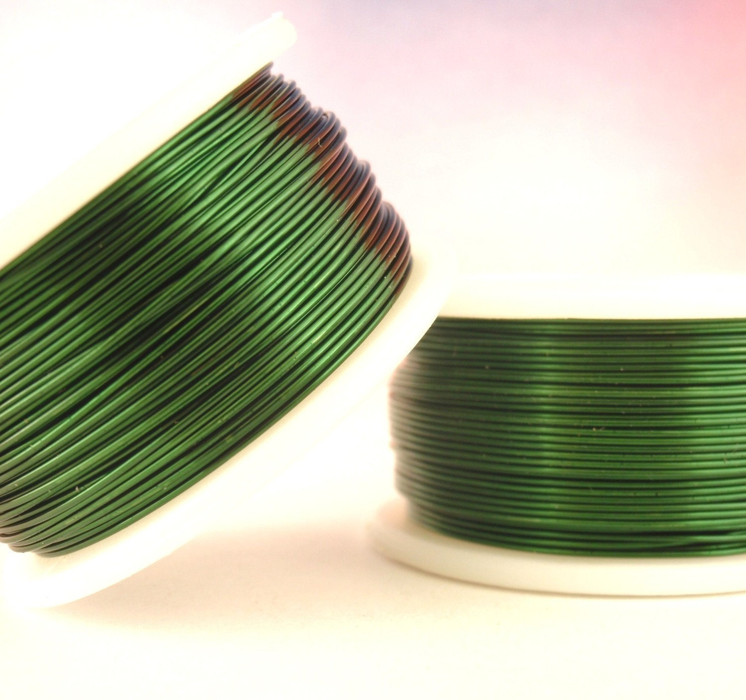 Coated Copper Wire   Green Enameled Coated Copper Wire 100 Guarantee You Pick Etsy
