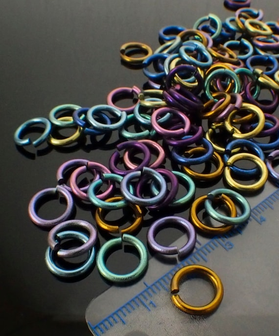 100/% Guarantee 22  or 24 gauge 100 Green Jump Rings Custom Handmade  10 14,16 18 20 12