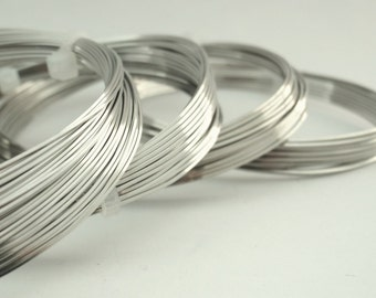 Square Jewelry Grade Stainless Steel Wire 316L - Premium - You Pick Gauge 18, 20, 21, 22, 24 - 100% Guarantee