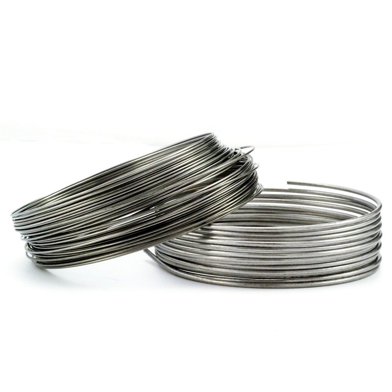 Stainless Steel Wire  Nickel Free  You Pick Gauge 8 10 12 image 0