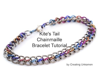 Kite's Tail Chainmaille Bracelet Tutorial