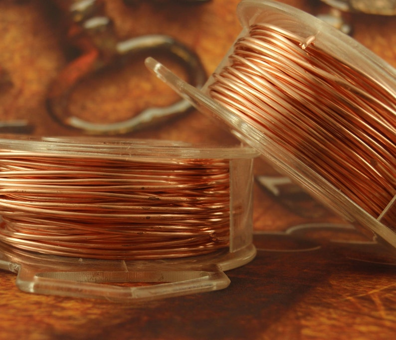 Copper Wire  Solid Raw Metal  Dead Soft 100% Guarantee You image 0