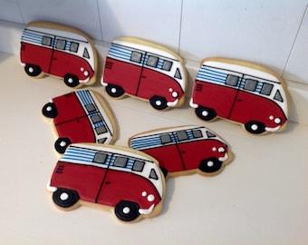 a97dcb42b9 VW Bus Van Cookies