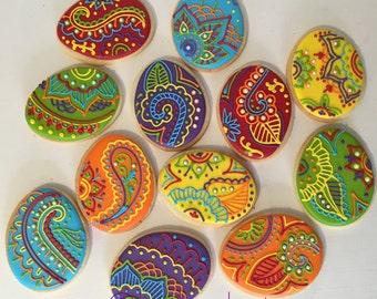 Henna Mehndi Cookies - 1 dozen
