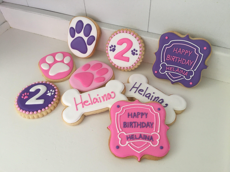 Paw Patrol Cookies 1 dozen | Etsy