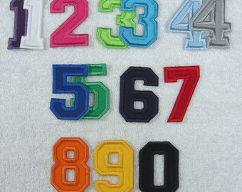 5 Double Letterman CollegeVarsity Letters /& Numbers Zig Zag Edge Made to Order