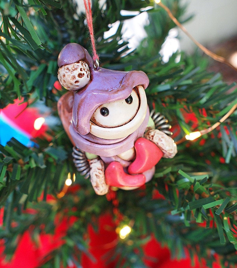 Robot Snowman Snowbot Christmas Ornament Jet-Pack Geeky unisex image 0
