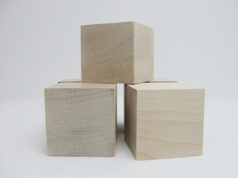 2 12 Inch Wooden Cube 2 12 Wooden Block 25 Inch Unfinished Wood Cube Unfinished Wood Block Choose Your Quantity