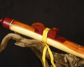 Native style flute CedarHeart Series Key of A from Tree of Life Designs