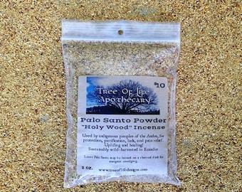 "Palo Santo ""Holy Wood"" Powder, 2 oz. bag"