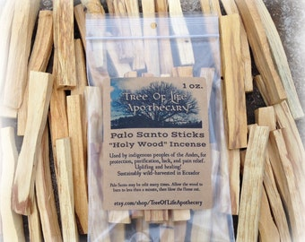 "Palo Santo ""Holy Wood"" 1 oz. bag"