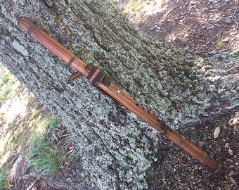 Low A#m (Bbm) Bamboo Sideblown Native Style Flute from Tree of Life Designs