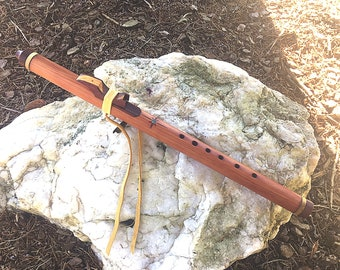 Native style flute CedarHeart Series Key of Am from Tree of Life Designs