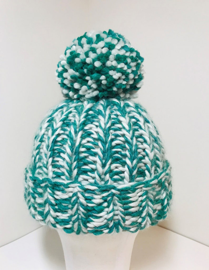 9a64846d83d Snug Bug Bobble Beanie Adult Hat READY TO SHIP Super Chunky
