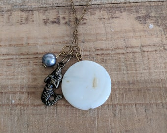 Mermaid Love Necklace