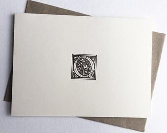 Initial Q   Monogram Stationery   Letterpress Notecards   Thank You Cards   Letterpress Stationery   Monogram Cards   Letterpress Cards