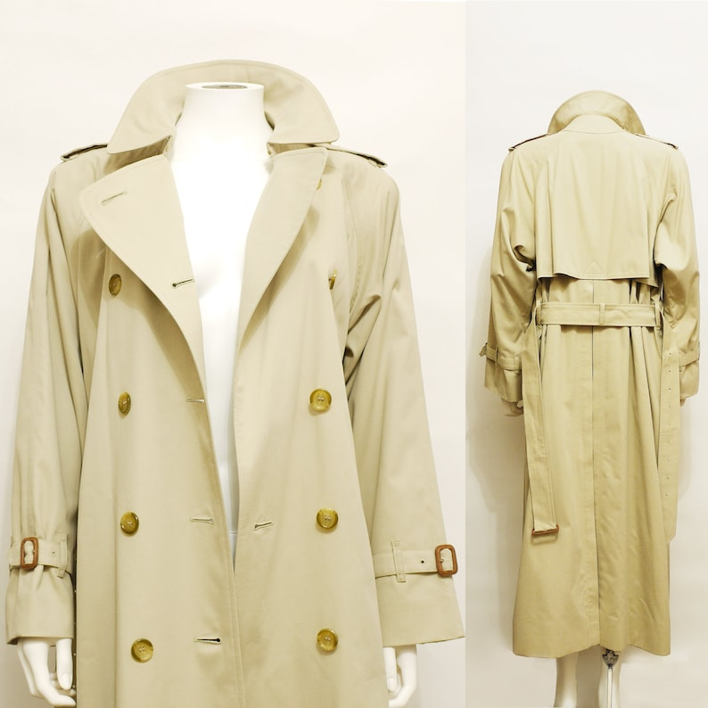 9cf0ab59bf035 Burberrys Women trench vintage raincoat Burberry jacket New