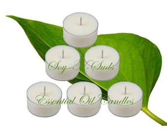 ANISE & CLOVE // Essential Oil // Tea Light Soy Candles
