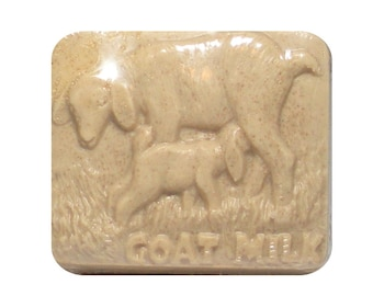 OATMEAL MILK & HONEY Soap, Homemade Goat Milk Soap
