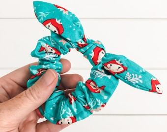 Little Mermaid Scrunchie | Magic Kingdom Scrunchie | Disney Scrunchie
