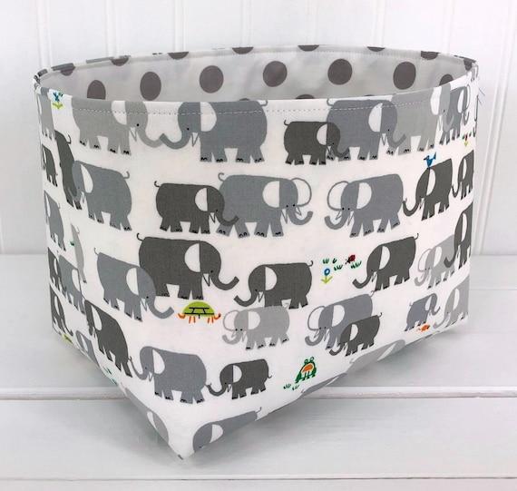 Elefant korb kinderzimmer aufbewahrung organizer korb for Organizer kinderzimmer