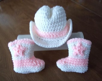 d0630c3fa55 COWGIRL baby Hat   Boots