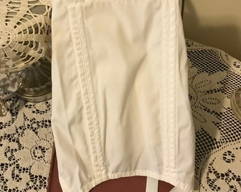 946ea668c Vintage 70s White Garter Belt Girdle Ladies Lingerie Sears Size Small Gifts  for Her