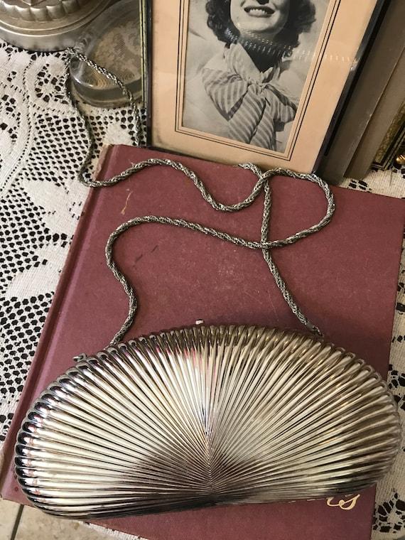 70s Grazia Magazine Cover Clutch Purse  1970s Italian Magazine Handbag  Designer Vintage 70s Delill Italy Grazia Magazine Clutch Bag