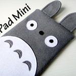 Totoro iPad Mini Case / Tablet Case / Custom Gadget Sleeve
