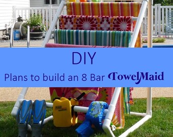 DIY Plans for 8 Bar TowelMaid -READ LISTING!