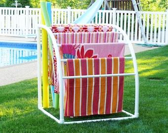 7 Bar Curved TowelMaid Rack