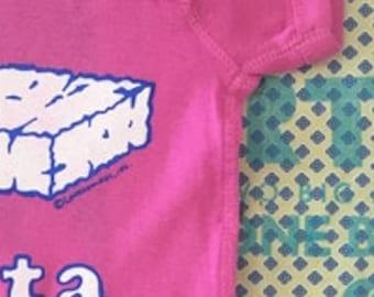 Feta Cheese Greek Baby Onesie - Greek gift