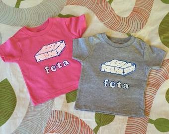 Feta Cheese TODDLER YOUTH Greek T-shirt gift