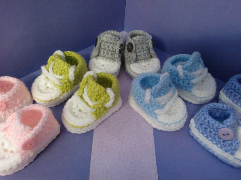 31be01836eb How to Crochet My Easy Converse Style Slippers patterns